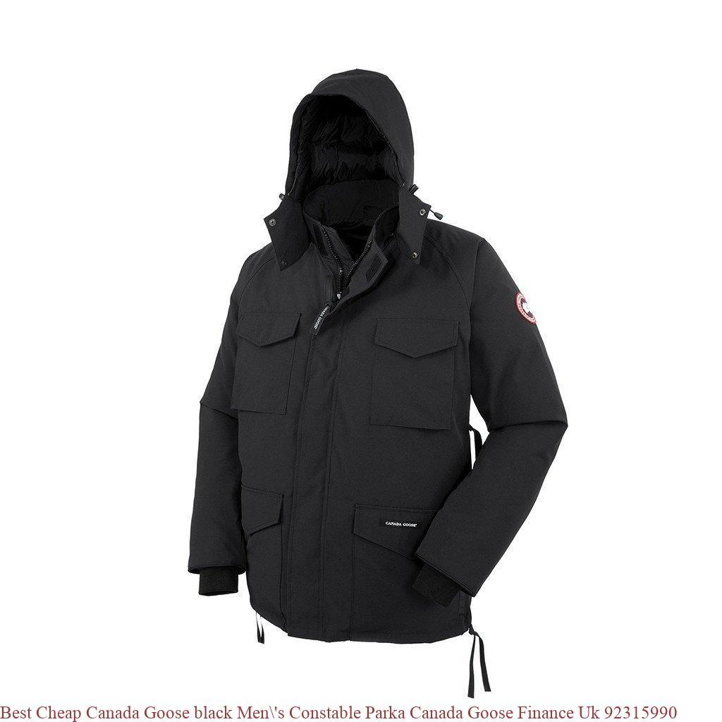 Best Cheap Canada Goose black Men  s Constable Parka Canada Goose ... 43a133531