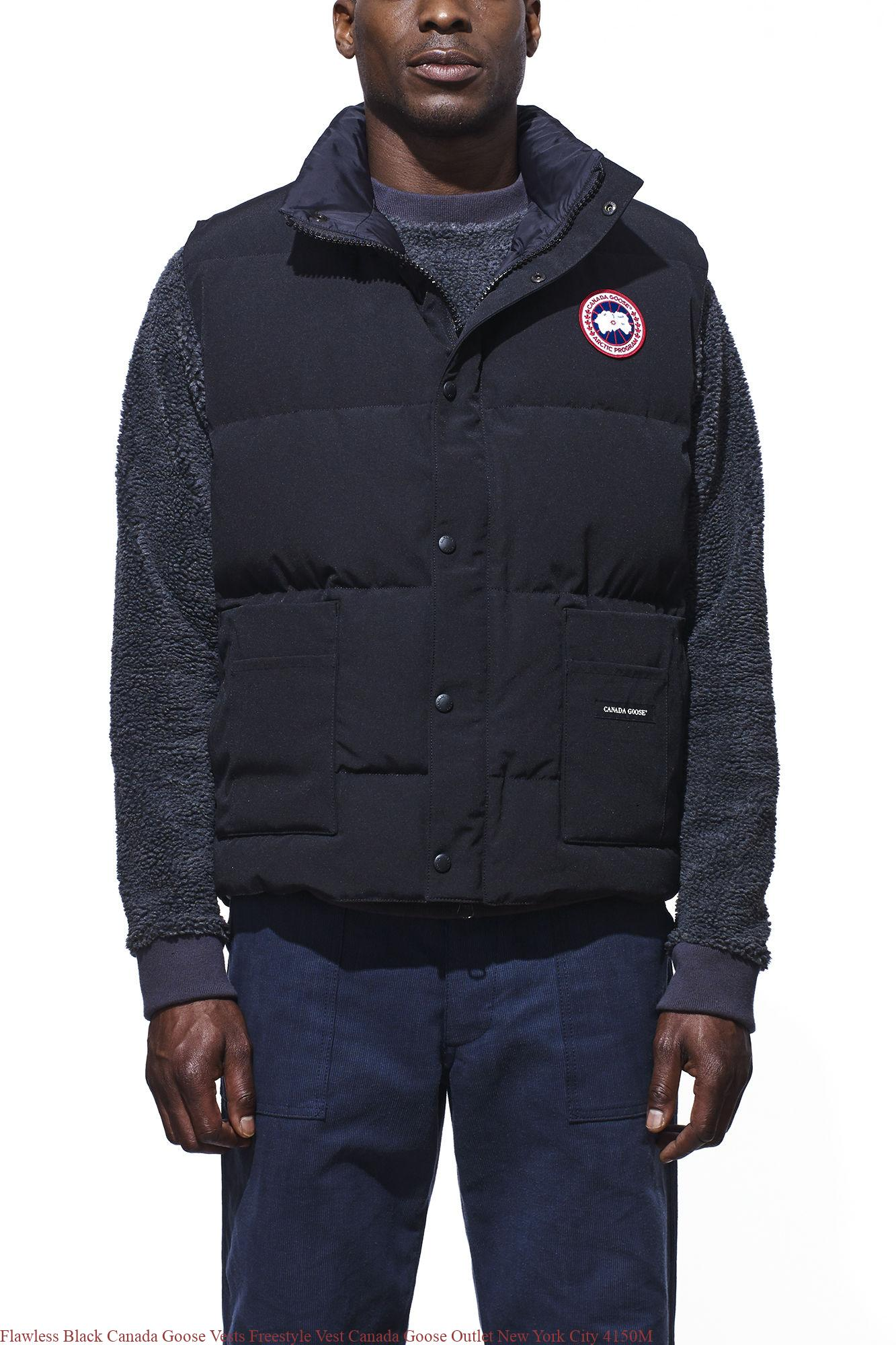 Flawless Black Canada Goose Vests Freestyle Vest Canada Goose Outlet New  York City 4150M – Cheap Canada Goose Outlet Jackets & Parkas Sale | Up to  70% Off