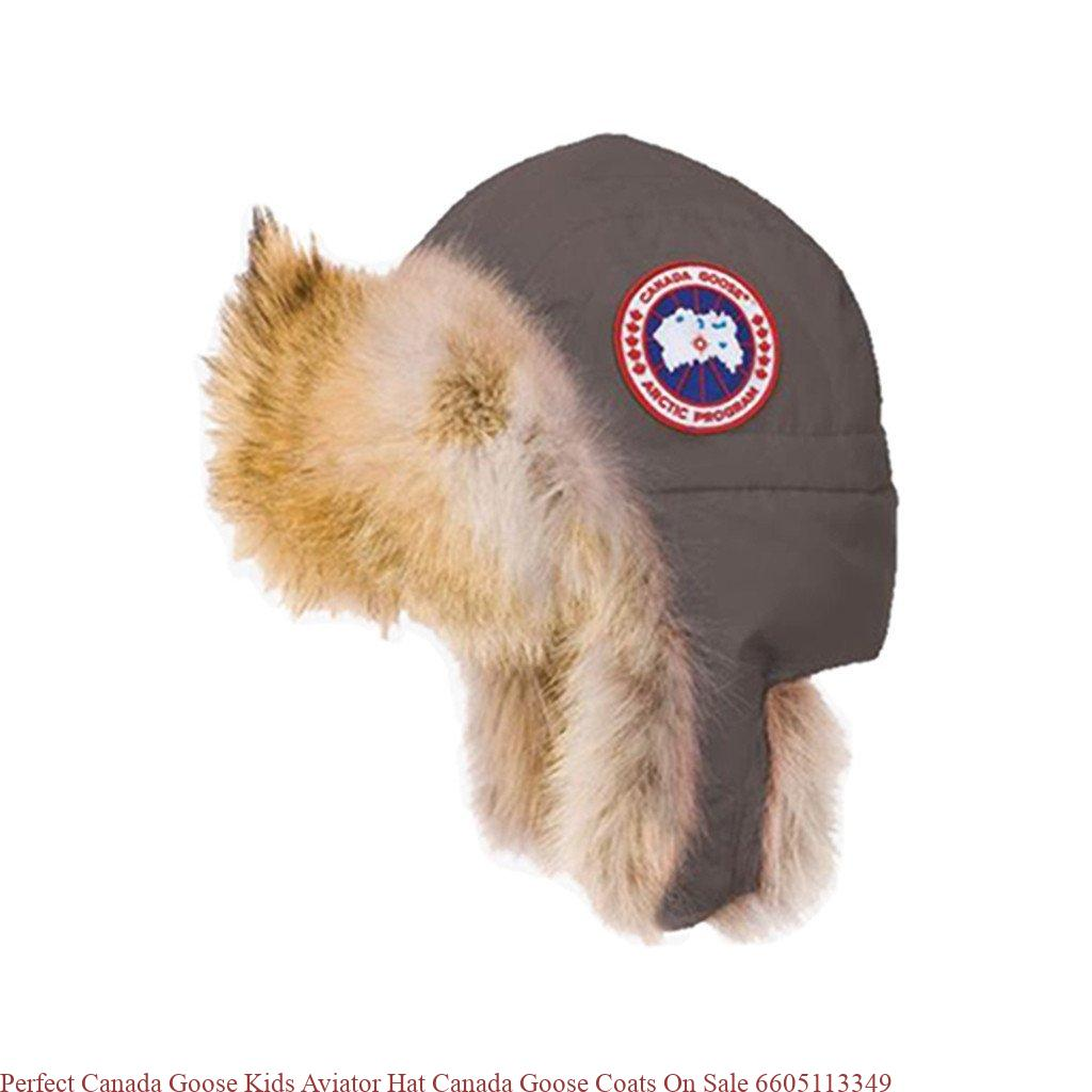 3081b3dc69e Perfect Canada Goose Kids Aviator Hat Canada Goose Coats On Sale 6605113349